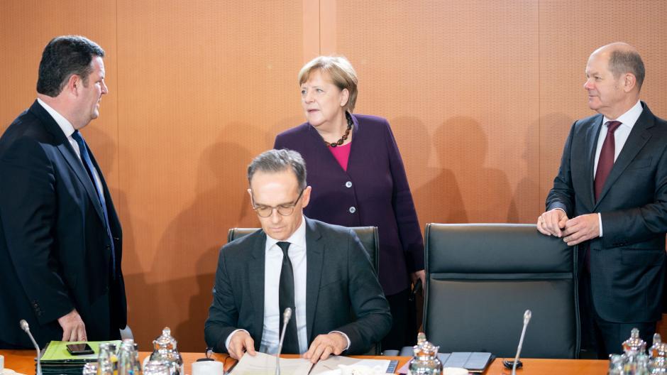 Noch viele Schwierigkeiten: SPD-Minister Hubertus Heil (links) und Olaf Scholz (rechts).