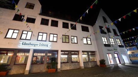 Die Räume der Günzburger Zeitung an der Hofgasse in Günzburg. Doch in Zeiten der Corona-Pandemie arbeitet die Redaktion weitgehend im Homeoffice.
