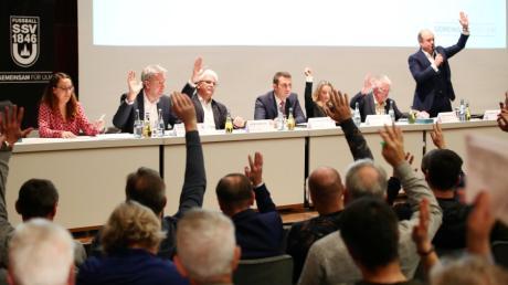 Mit einer klaren Mehrheit von rund 96 Prozent haben die Spatzenmitglieder für eine Satzungsänderung und der damit verbundenen Ausgliederung der Ulmer Profi-Abteilung gestimmt.