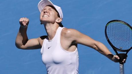 Simona Halep hat im Turnierverlauf noch keinen Satz abgegeben.
