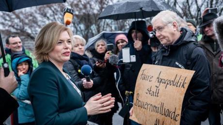 Bauern protestieren derzeit überall in Deutschland.