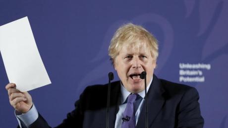 Boris Johnson präsentiert die britischen Eckpunkten für die Verhandlungen mit der EU.