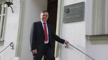Günther Pfefferer, Bürgermeister in Monheim, tritt erneut für die CSU an