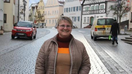 Anita Ferber, Bürgermeisterkandidatin in Monheim für PWG/Freie Wähler