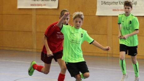 Der FC Stätzling (grün) fährt zur schwäbischen Meisterschaft.