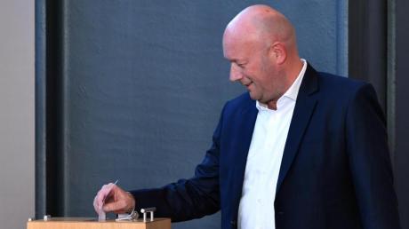 Der FDP-Politiker Thomas Kemmerich ist zum Ministerpräsidenten gewählt worden.