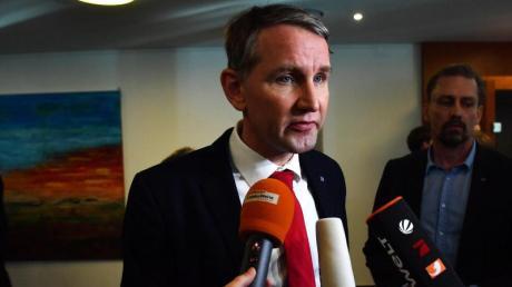 """Als """"heimlicher Sieger"""" der Wahl wurde Björn Höcke nach der Wahl häufig bezeichnet. Jedenfalls in den Umfragen spiegelt sich das aber nicht wider."""