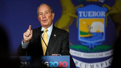 Mike Bloomberg, demokratischer Bewerber um die Präsidentschaftskandidatur, hat bereits 254 Millionen Dollar für Wahlkampfwerbung ausgegeben .