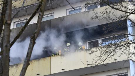 In Hochzoll ist es zu einem Brand gekommen.