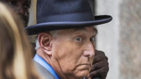 Seine bevorstehende Anklage sorgt für ein Politikum: Roger Stone, langjähriger Vertrauter von US-Präsident Trump.