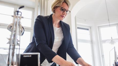 OB-Kandidatin Eva Weber