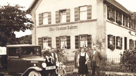 Alois Ehrmann senior setzte 1920 den Grundstein.