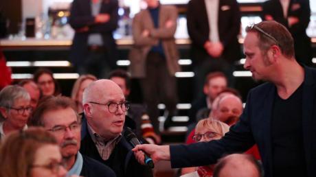 Die Podiumsdiskussion zur Oberbürgermeister-Wahl in Neu-Ulm in Bildern.