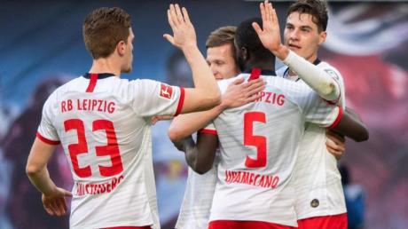 Zumindest bis Sonntagnachmittag übernimmt RB Leipzig nach dem Sieg gegen Bremen wieder die Bundesliga-Tabellenführung.