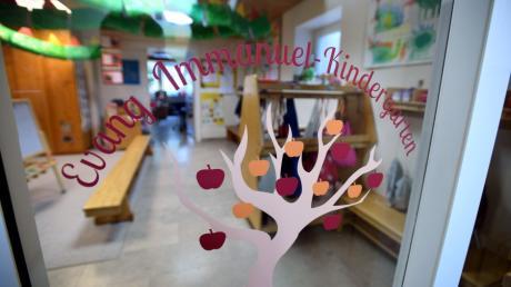 """Im Kindergarten """"Apfelbäumchen"""" im Immanuelhaus in Leitershofen werden 24 Kinder betreut."""