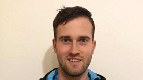 Volleyballer Thomas Wolf.