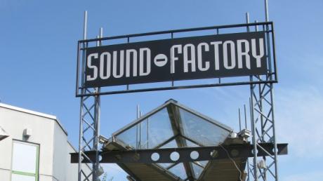 Die Discothek Sound Factory im Gersthofer Hery-Park.