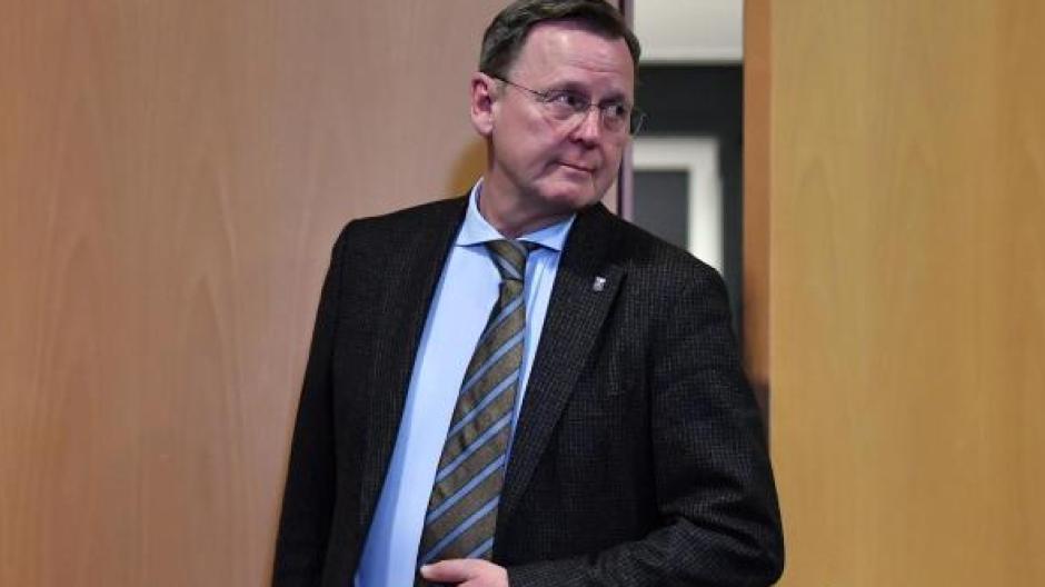 Bodo Ramelow (Die Linke) wird wohl am 4. März wieder zum Ministerpräsidenten von Thüringen gewählt.