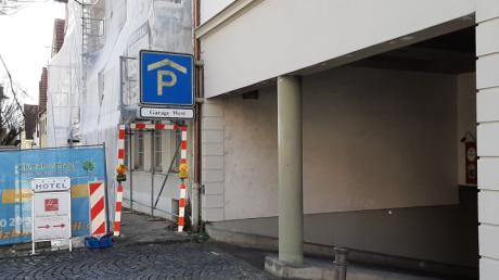 Die Tiefgarage West an der Bauernbräustraße in Friedberg wird demnächst gesperrt. Grund sind erneut Reparaturarbeiten an der Sprinkleranlage.
