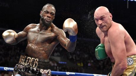 Wilder vs Fury: Es kommt zum Rückkampf im Profi-Boxen.