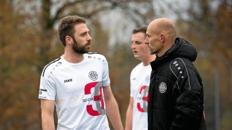 Für Landsbergs Trainer Sven Kresin und seine Mannen steht das vorletzte Testspiel an.
