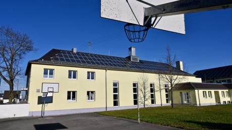 Die Oswald-Merk-Halle in Leitershofen soll renoviert werden.