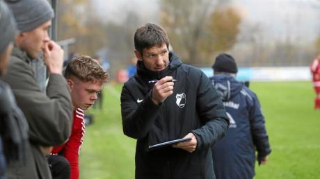 Rinnenthals Trainer Lubos Cerny freut sich auf das Testspiel beim Nachbarverein Kissing.