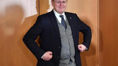 Bodo Ramelow im Thüringer Landtag: In der Regierungskrise ist ein Durchbruch erzielt worden.