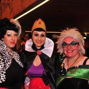 Die drei Bad Disney-Girls. aus Mering.