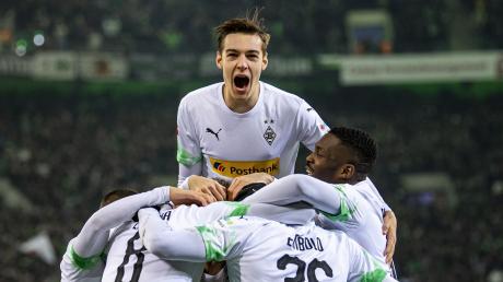 Florian Neuhaus hat das Tor des Monats Januar erzielt.  Der Kauferinger spielt für Borussia Mönchengladbach.