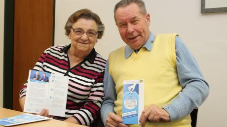 Erna und Ewald Klapka sind gerne Wahlhelfer und appellieren an die Jugend, sich ebenfalls zu engagieren.