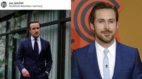 Joe Laschet (links) sieht Ryan Gosling ziemlich ähnlich.