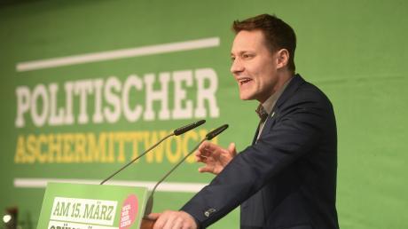 Ludwig Hartmann ist Fraktionsvorsitzender der Grünen im bayerischen Landtag.