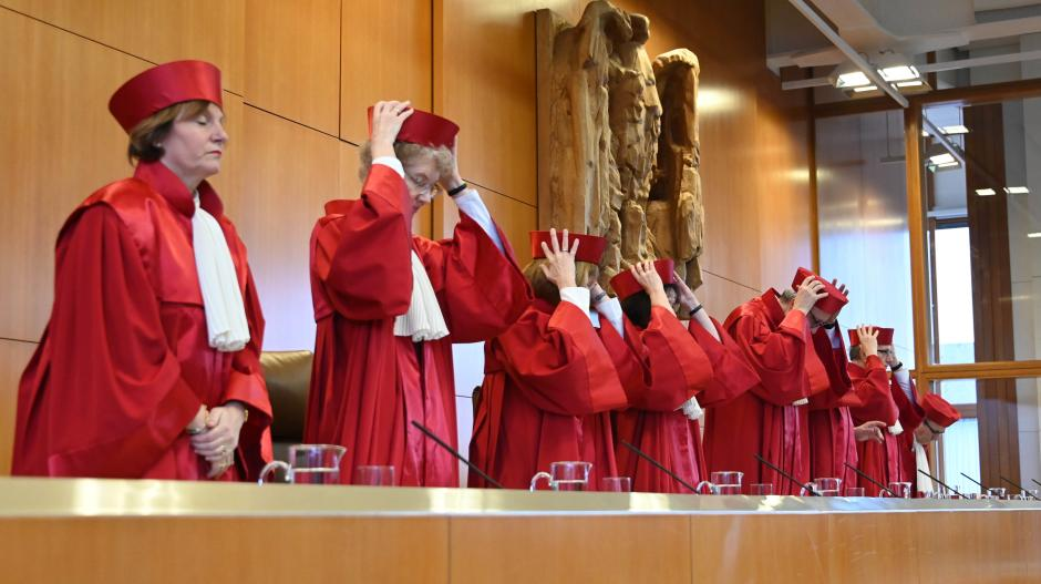 Der Zweite Senat des Bundesverfassungsgerichts verkündete das Urteil zum Sterbehilfe-Verbot.