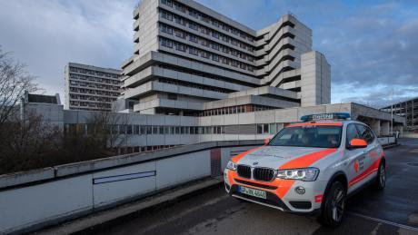 26.02.2020, Baden-Württemberg, Göppingen: An der Klinik am Eichert in Göppingen wurde der erste Coronakranke in Baden-Württemberg bestätigt.