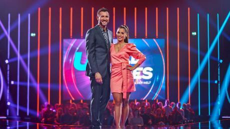 Sarah Lombardi moderiert die Sendung gemeinsam mit Jochen Schropp.