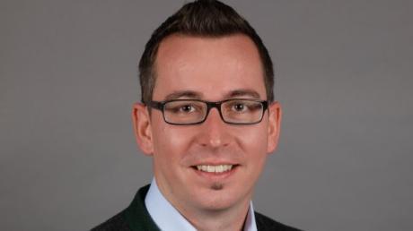 Christoph Aidelsburger tritt bei der Kommunalwahl 2020 als Bürgermeisterkandidat in Rehling an.