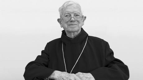 Viktor Josef Dammertz war von 1993 bis 2004 Augsburger Bischof.