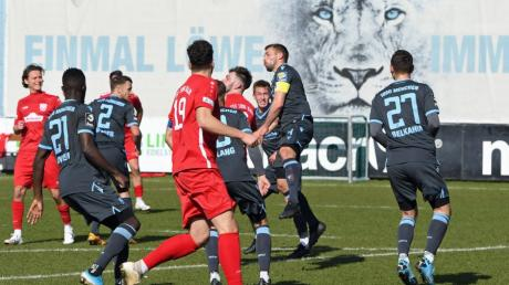 Das Testspiel zwischen dem TSV 1860 München und dem TSV Rain endete 3:2.