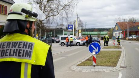 Die Feuerwehr Mindelheim war mit 27 Einsatzkräften vor Ort.