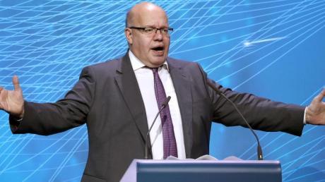 Bundeswirtschaftsminister Peter Altmaier (CDU) will kleine Unternehmen unterstützen.