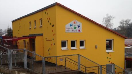 """Die Kita """"Haus der kleinen Hände"""" in Burtenbach soll erweitert werden."""