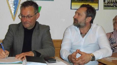 FCP-Geschäftsführer Ulrich Bergmann (links) und der Sportliche Leiter Tarik Sarisakal.