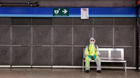 Das Coronavirus ist in vielen Ländern der Welt spürbar - wie hier in Spanien.