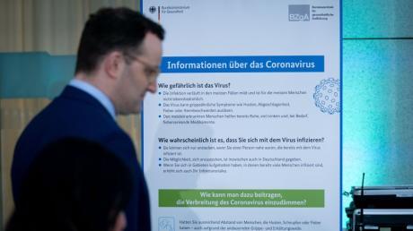 Kampf gegen Epidemie: Bundesgesundheitsminister Jens Spahn.