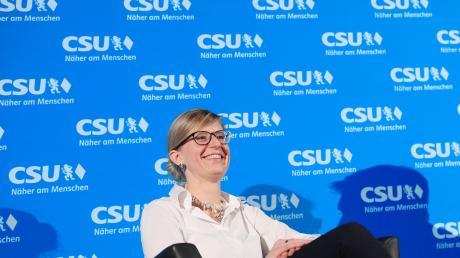 Katrin Albsteiger war als erste Frau Landesvorsitzende der Jungen Union.