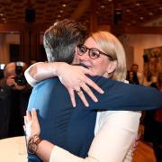 # Kommunalwahlen 2020, Bürgermeisterwahlen 2020, Bekanntgabe der Wahlergebnisse, Rauthaus Augsburg