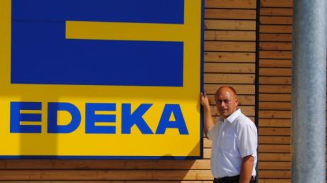 Der Rieder Edeka war das größte Projekt in Erwin Gerstlachers erster Amtszeit als Rieder Bürgermeister. Doch auch für die nächsten sechs Jahre hat er einiges vor.