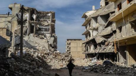 Der Beginn des Syrien-Kriegs hatte sich bereits zum 9. Mal gejährt.