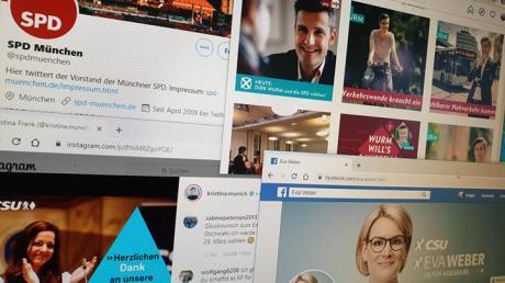 Die Parteien verlagern ihren Wahlkampf vor der Stichwahl ins Internet.